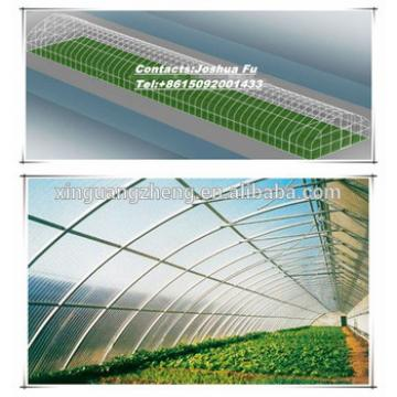 Agriculture galvanized steel structure greenhouse for planting