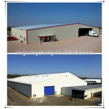 Large space steel structure warehouse with EPS sandwich panel