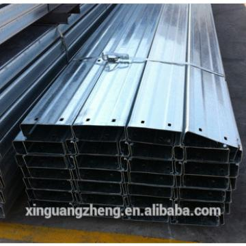 Steel structure galvanized C section purlin