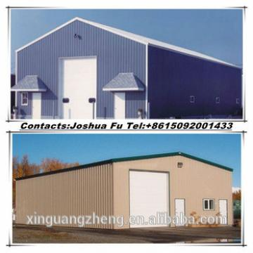 Simple prefabricated steel structure barn