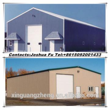 Simple prefabricated steel structure barn