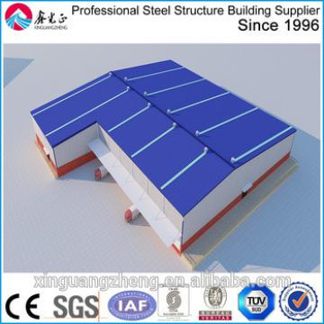Irregular shape H steel structure logistics warehouse