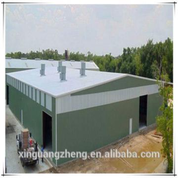 High and large span steel structure warehouse building