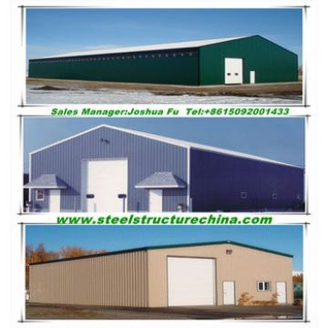 prefab steel structure farm shed/barn for agricultural breeding industry