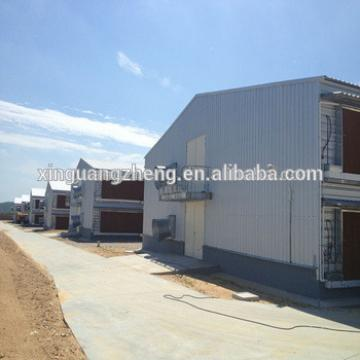 prefabricated cheap industrial chicken house