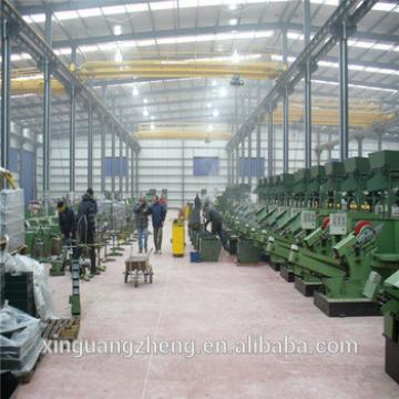 Customized welding H steel structure frame warehouse