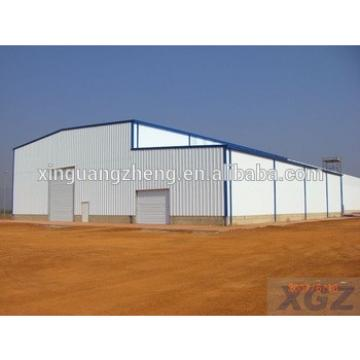 China large span light steel prefabricated structure warehouse