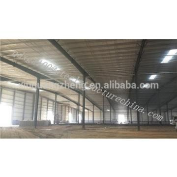 China Warehouse structural design light steel frame construction building