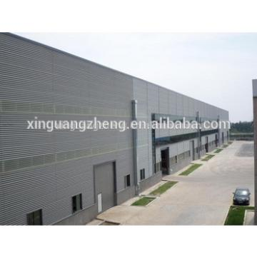 modern large span precast steel structure warehouse