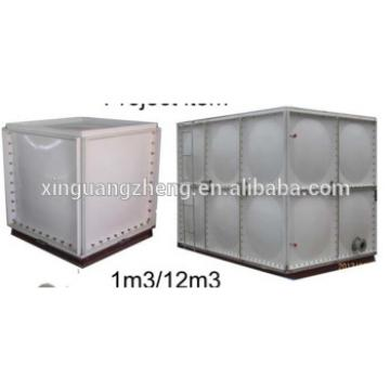 Hot dip galvanized water tank for hot sale