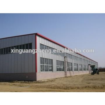 China light steel truss frame warehouse