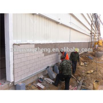 portal frame light steel warehouse with office building