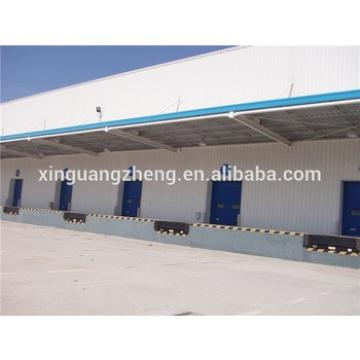 well welded fireproof prefabricated steel structure warehouse