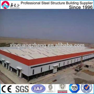 construction industrial steel structure workshop in algeria
