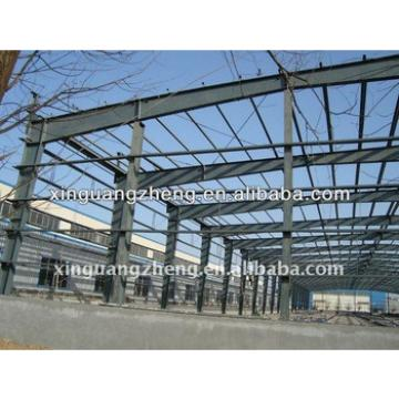 large span steel auto parts warehouse