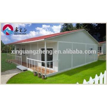 modern steel frame modular house