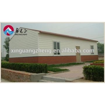 fast construction steel frame guest house