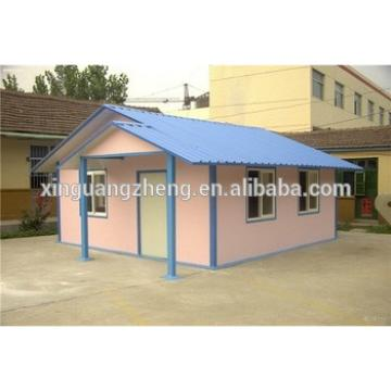 easy assembly temporary small prefab house