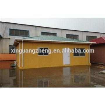 temporary popular single slope roof sandwich panel prefab house