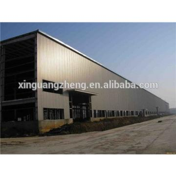 durable prefabricated steel structure double storey warehouse