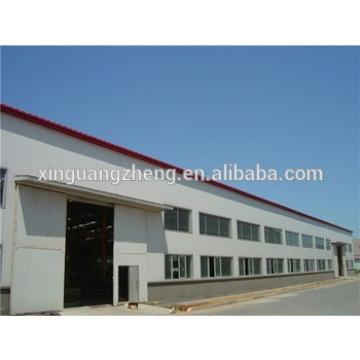 competitive metal cladding long span steel frame warehouse building design