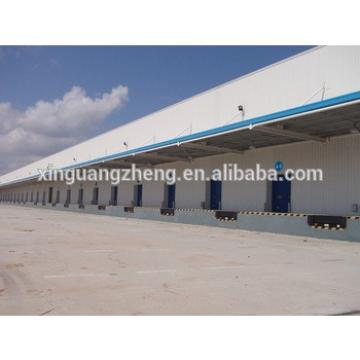 fast construction removable long span steel frame warehouse building design