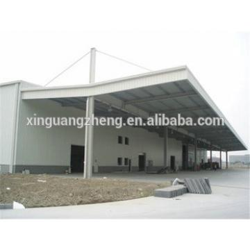 light multipurpose large span industrial warehouse steel design