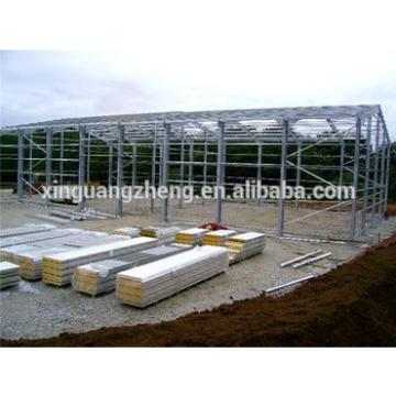 portal colour cladding high quality light steel warehouse metal canopy