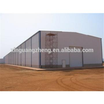multi-span two story high security steel structure warehouse drawings
