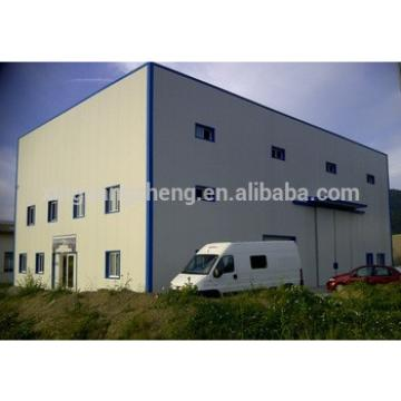 Price For Large Span Portal Steel Frame Warehouse