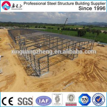 prefab cheap iron frame warehouse