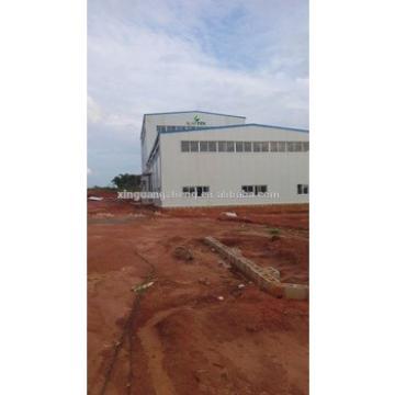 site installation south africa steel structure workshop