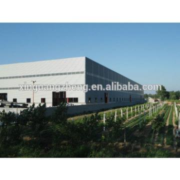 steel frame warehouse construction