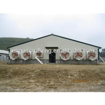 steel structure low cost chicken layer house shed poultry