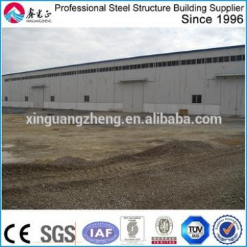 3D prefabricated steel structure large span warehouse building