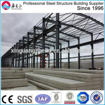 light steel frame prefab warehouse project in Ghana
