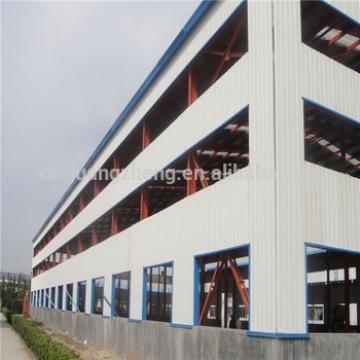 industrial prefabricated steel frame warehouse building