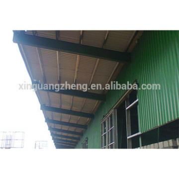 long canpoy steel structure warehouse