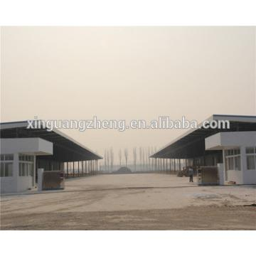 multi span steel structure warehouse for logistics park
