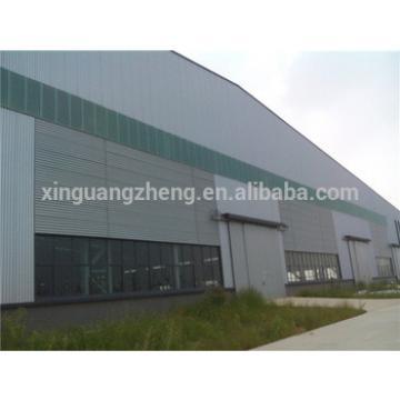 prefabricated construction steel framed warehouse