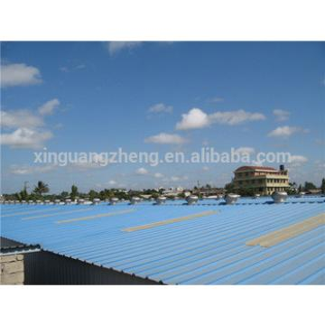 prefabricated galvanized steel warehouse