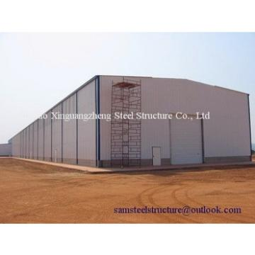 Easy erect economical metal roof industrial warehouse