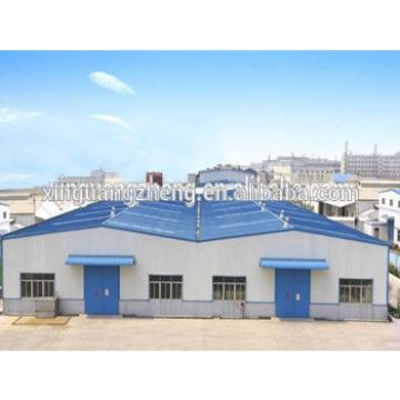prefabricated building corrugated sheet steel structure warehouse