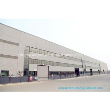 Large span easy erect steel logistics warehouse