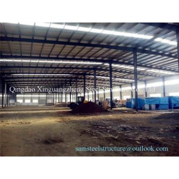 CE approved sandwich panel steel structure warehouse