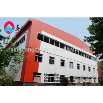 steel structure double storey warehouse
