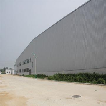 large span prefabricated insulated steel warehouse