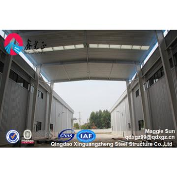 steel framed structure warehouse shed
