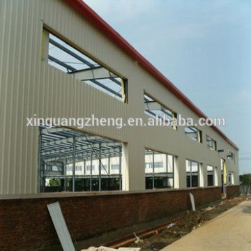 prefabricated easy install steel structure building factory shed
