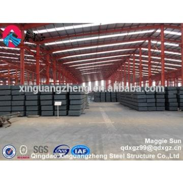 High-rise steel structure workshop/warehouse prefab factory for sale
